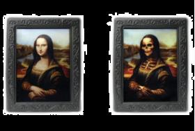 Effektbilde Mona Lisa Skjelett