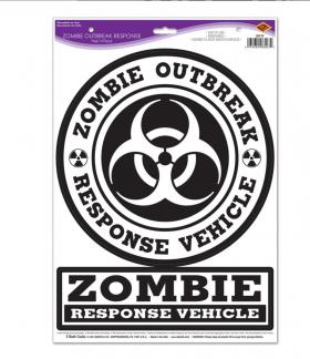 Vegg/vindu dekor, Zombie outbreak