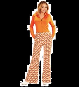 Groovy 70-talls bukse, Ruter