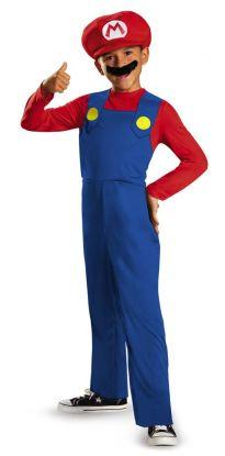 Super Mario kostyme til barn