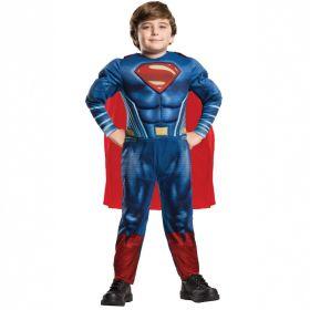 Supermann Deluxe Barnekostyme