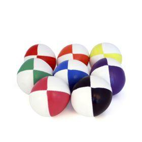 Sjongleringsball 110g 2 farget hvit