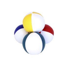Sjongleringsball 130g 2 farget hvit