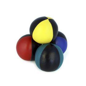 Sjongleringsball 130g 2 farget sort