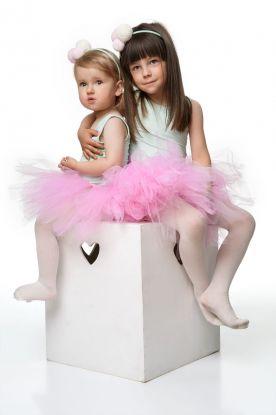 Tutu Lys Rosa, Barn, livvidde 50 cm