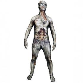 Bilde av Morphsuit The Zombie til barn, et tettsittende Zombie kostyme.
